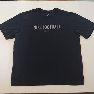 Nike football double-sided graphic tee